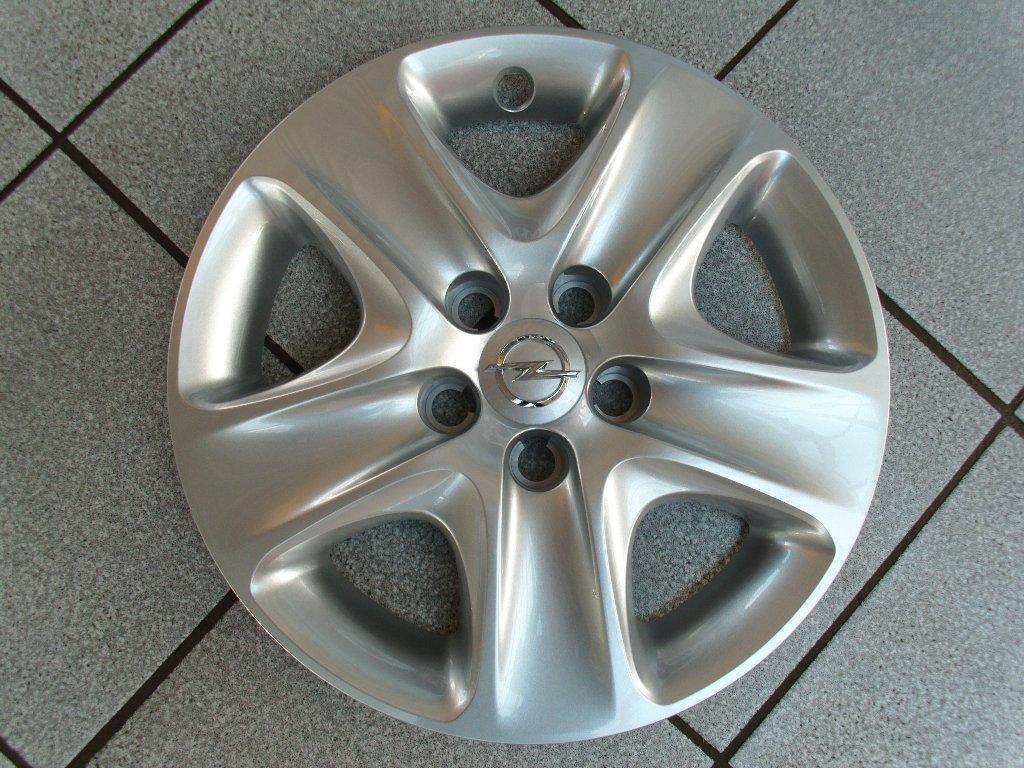 Opel 1006296 13337257 - Tapacubos original para Opel Astra H, Meriva B, Zafira B, 16
