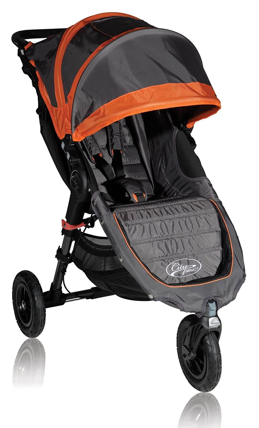 Baby Jogger 2012 City Mini GT Single Stroller, Shadow Orange Discontinued by Manufacturer