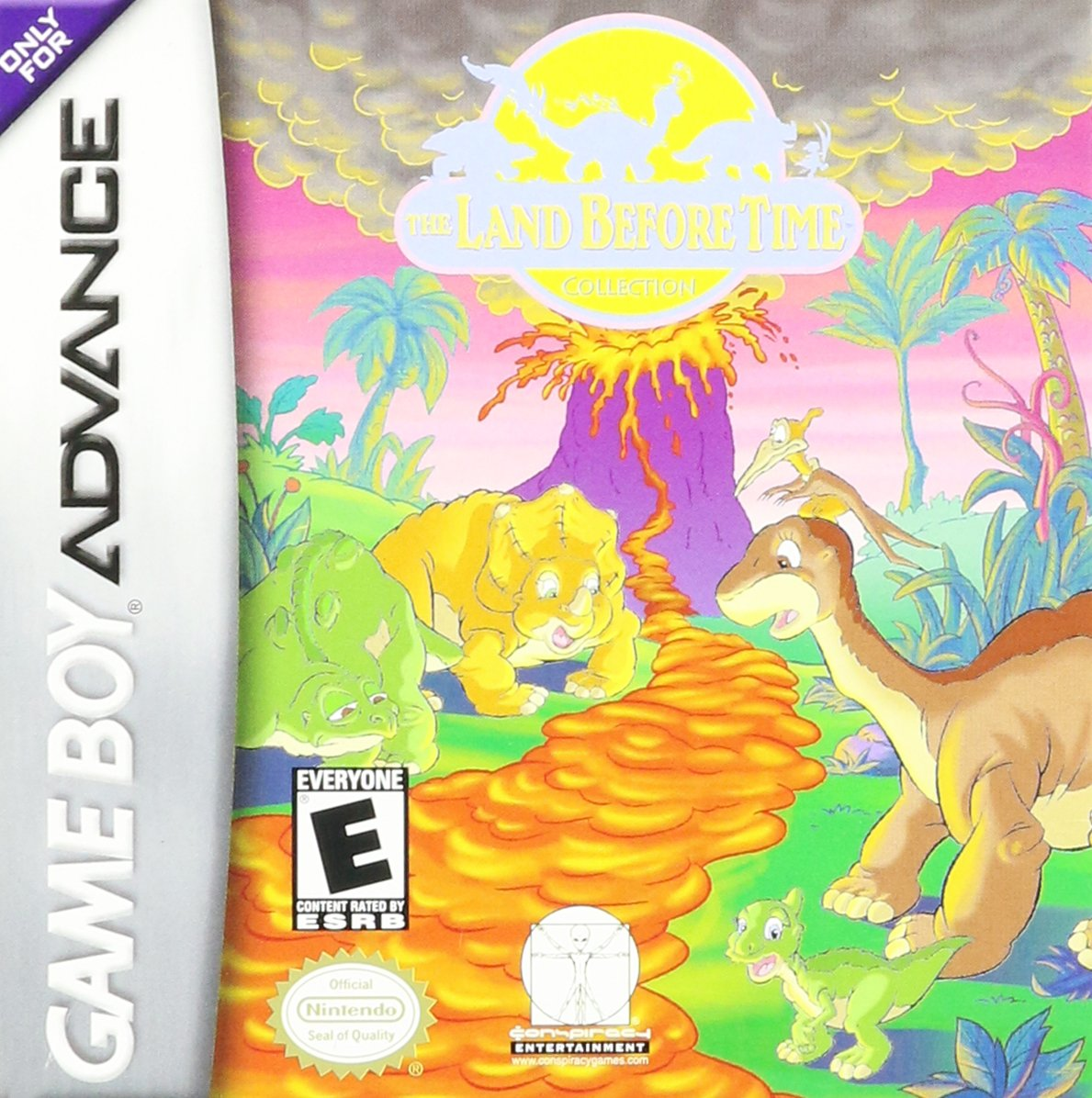 the land before time game boy advance game boy advance