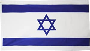 Israel Flag 2x3ft Poly
