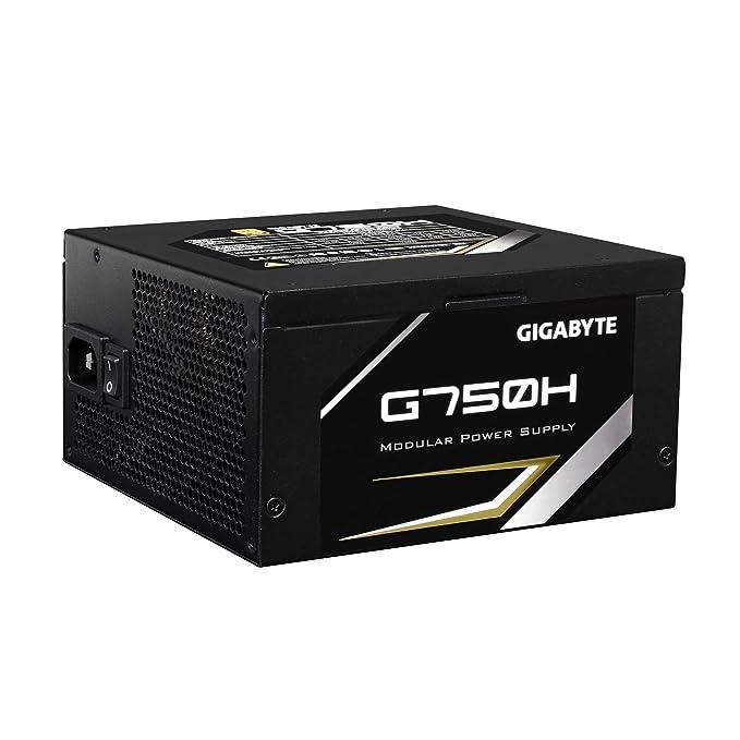 Gigabyte gb-g750h 750/W ATX schwarz Laufwerk/ /Stromversorgung 750/W, 100//–/240/V, 47//–/63/Hz, Aktiv, 120/W, 744/W