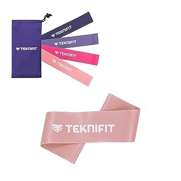 Teknifit Pink Resistance Bands Set for Women New