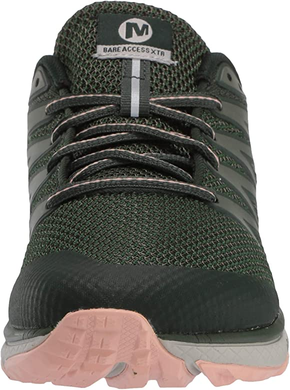 Merrell Bare Access XTR, Zapatillas de Running para Asfalto para Mujer, Verde (Forest), 36 EU: Amazon.es: Zapatos y complementos