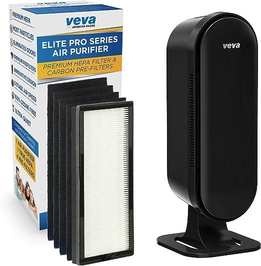 VEVA 8000 Elite Pro Series Filtro purificador de aire HEPA y 4 ...