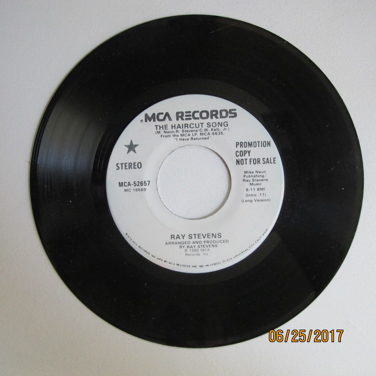 Ray Stevens The Haircut Song Promo 457 Amazon Music