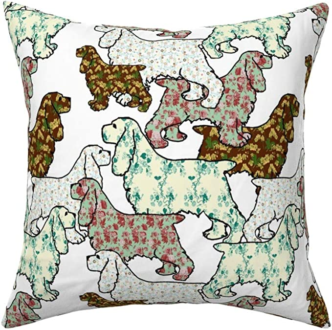 The Pillow Collection Lalomalava Floral Bedding Sham Grey King//20 x 36