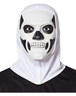 Spirit Halloween Fortnite Skull Trooper Mask With Hood