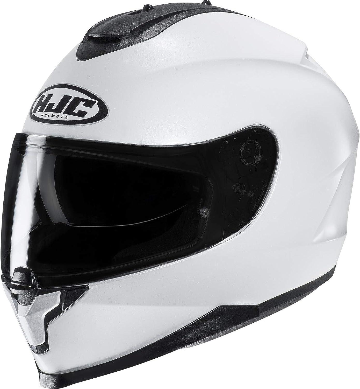 HJC C70 Full Face Motorcycle Helmet Plain Matt Black Motorbike Lid NEW 2019 Medium