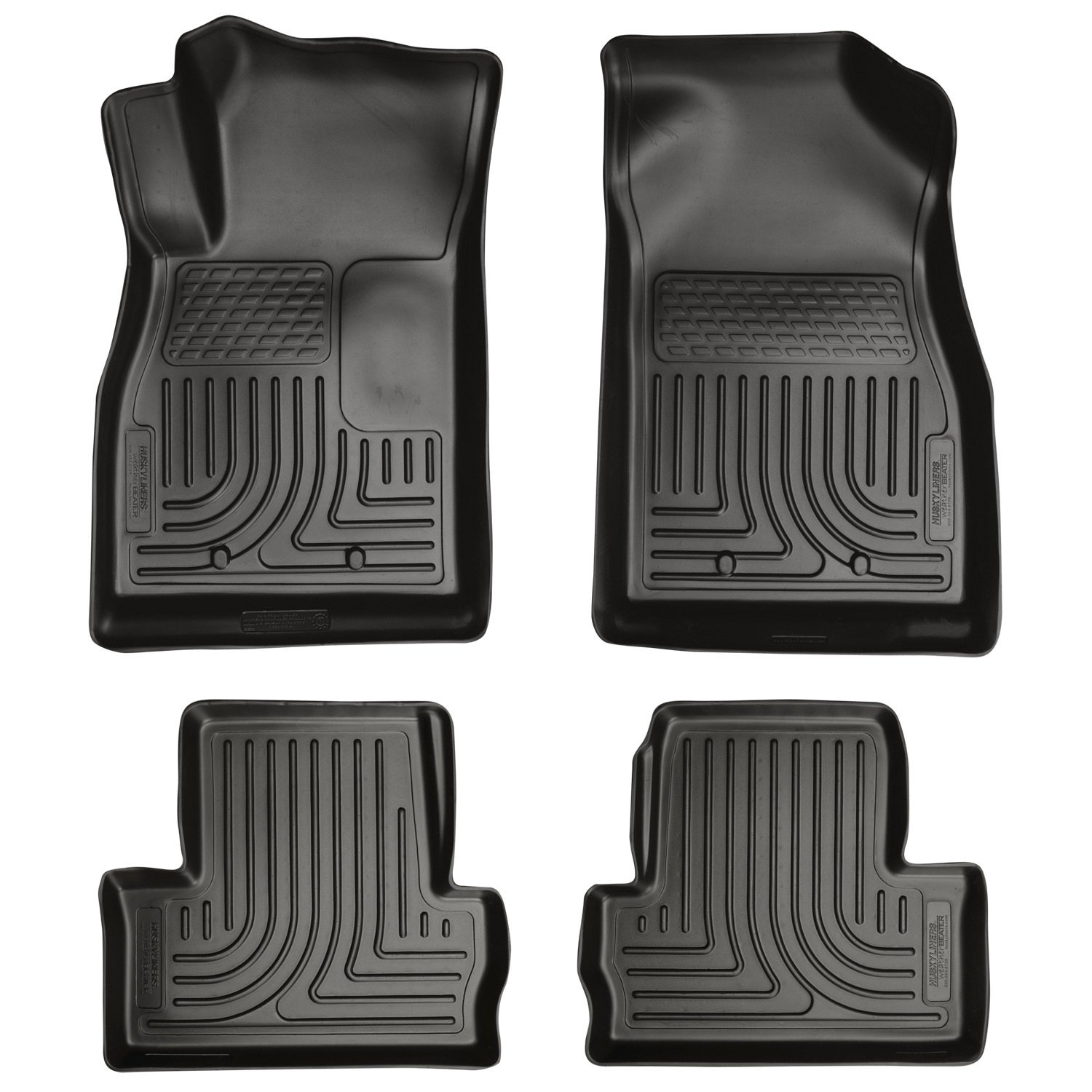 Amazon.com: Husky Liners Front U0026 2nd Seat Floor Liners (Footwell Coverage)  Fits 11 15 Volt: Automotive