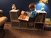 This bookcase was the perfect size for my 4 yr old son