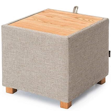 Amazoncom Storage Stool Storage Box Bay Window Table Square Small