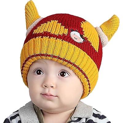 Bébé Tout Enfants Garçon Fille Bonnet, Yogogo Beau Spire doux Chapeau pour enfants