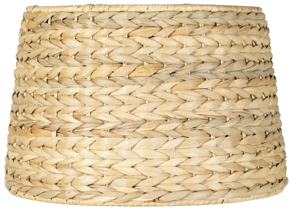Woven seagrass drum shade 10x12x825 spider lampshades amazon mozeypictures Images