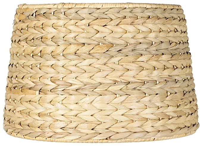 Woven seagrass drum shade 10x12x825 spider lampshades amazon woven seagrass drum shade 10x12x825 spider aloadofball Images