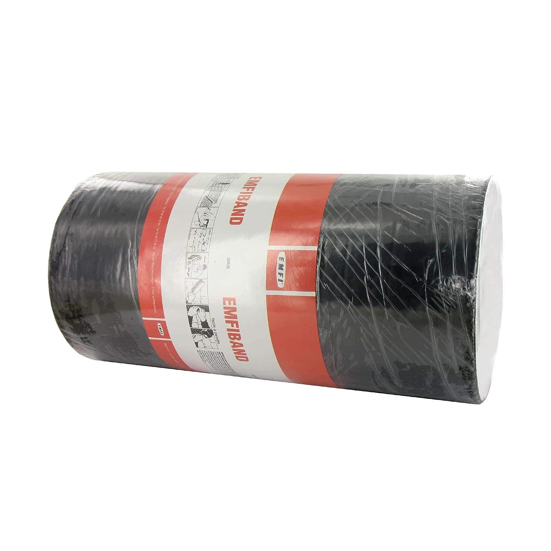 Banda autoadhesiva de sellado en frío gris EMFI 30cm x 10m: Amazon ...