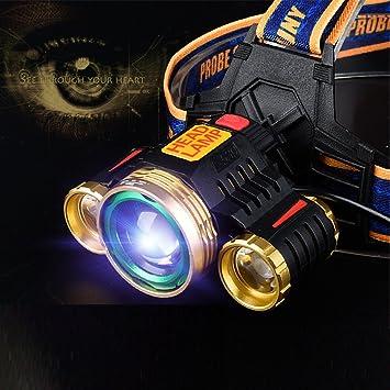 Frontale Lampe Led Super Puissante Usb Rechargeable 4 Mode D