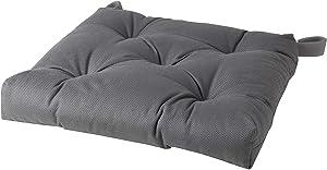 IKEA MALINDA Cotton / Polyester Dining Chair Pad Cushion (1, Gray)