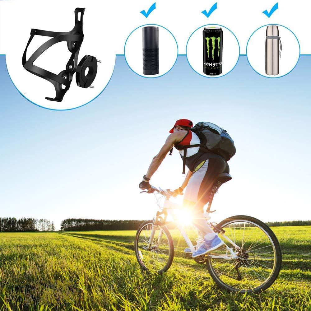 moto ele ELEOPTION de aleaci/ón de aluminio ajustable Portabotellas para biberones ligero y fuerte para carretera//monta/ña//bicicleta el/éctrica bicicletas infantiles y carruaje de beb/é