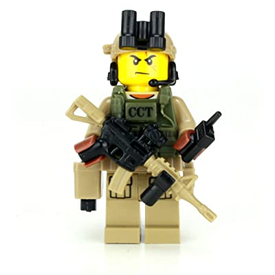 Battle Brick CCT Air Force Special Forces Value Custom Minifigure: Toys & Games [5Bkhe0200434]