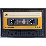 Empire Interactive 640963 - Felpudo (60 x 40 cm, polipropileno), diseño de casete, color naranja