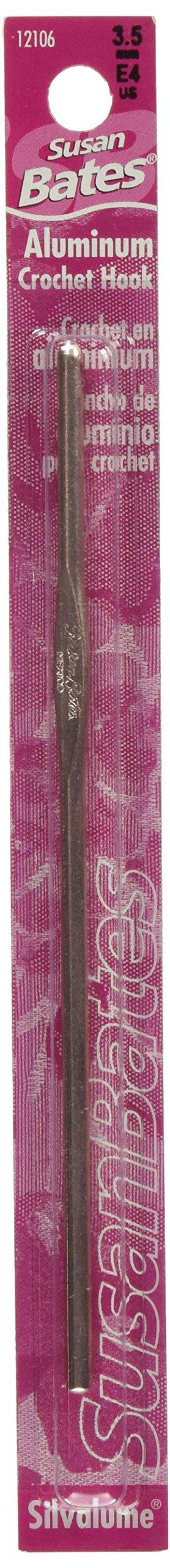 Susan Bates - Aguja de Crochet de aluminio de 5-1 / 2 (FA02)