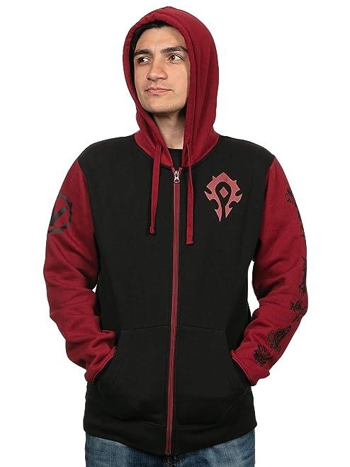JINX World of Warcraft Horde Pride Zip-Up Hoodie