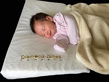 Crib Wedge Pillow PLUS BABY BLANKET