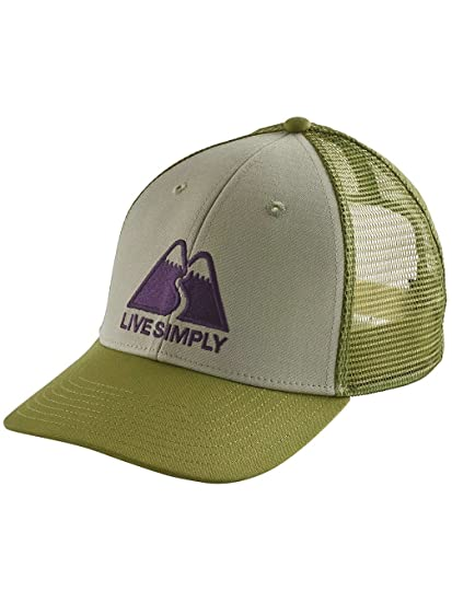 ae0f9d34 Cap Men Patagonia Live Simply Winding Lopro Trucker Cap: Amazon.co.uk:  Clothing