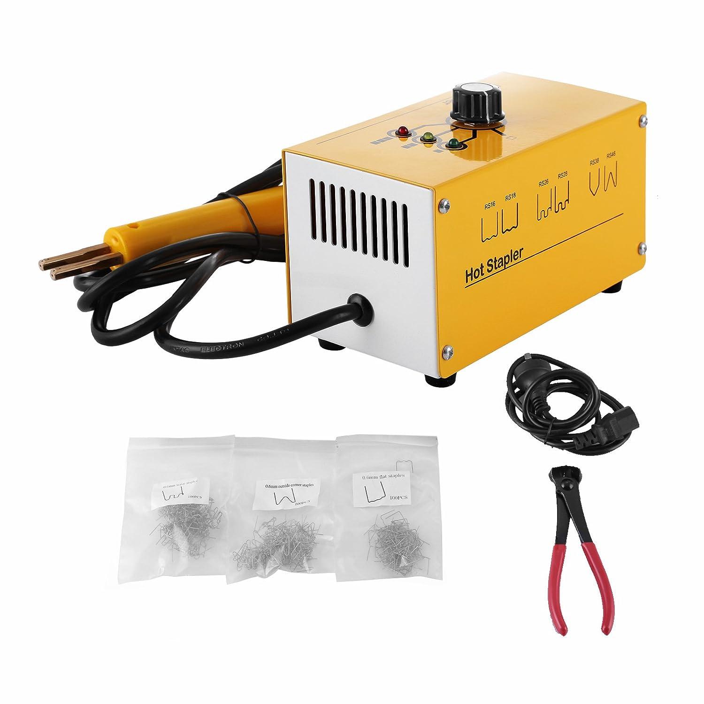 OrangeA Hot Stapler Plastic Repair Kit 300 Staples Tool Box 20W Plastic  Welder Kit for Plastic Repair Thermo Repair (300 Staples): Amazon.co.uk:  Car & ...