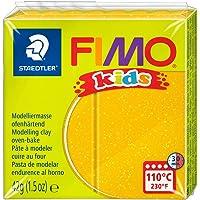 Fimo Kids Polimer Kil 42Gr. Glitter Gold