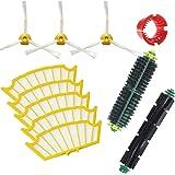 Techypro® iRobot Kit di ricambi sostituzione per Roomba 505 510 520 521 530 531 532 533 534 535 536 540 550 555 560 562 563 563 565 570