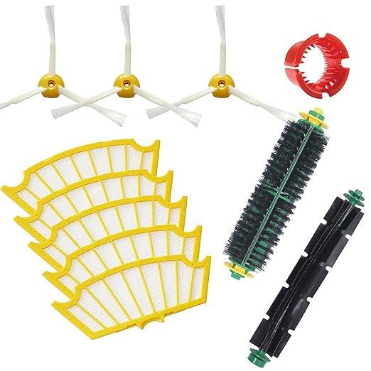 59 opinioni per Techypro® iRobot Kit di ricambi sostituzione per Roomba 505 510 520 521 530 531