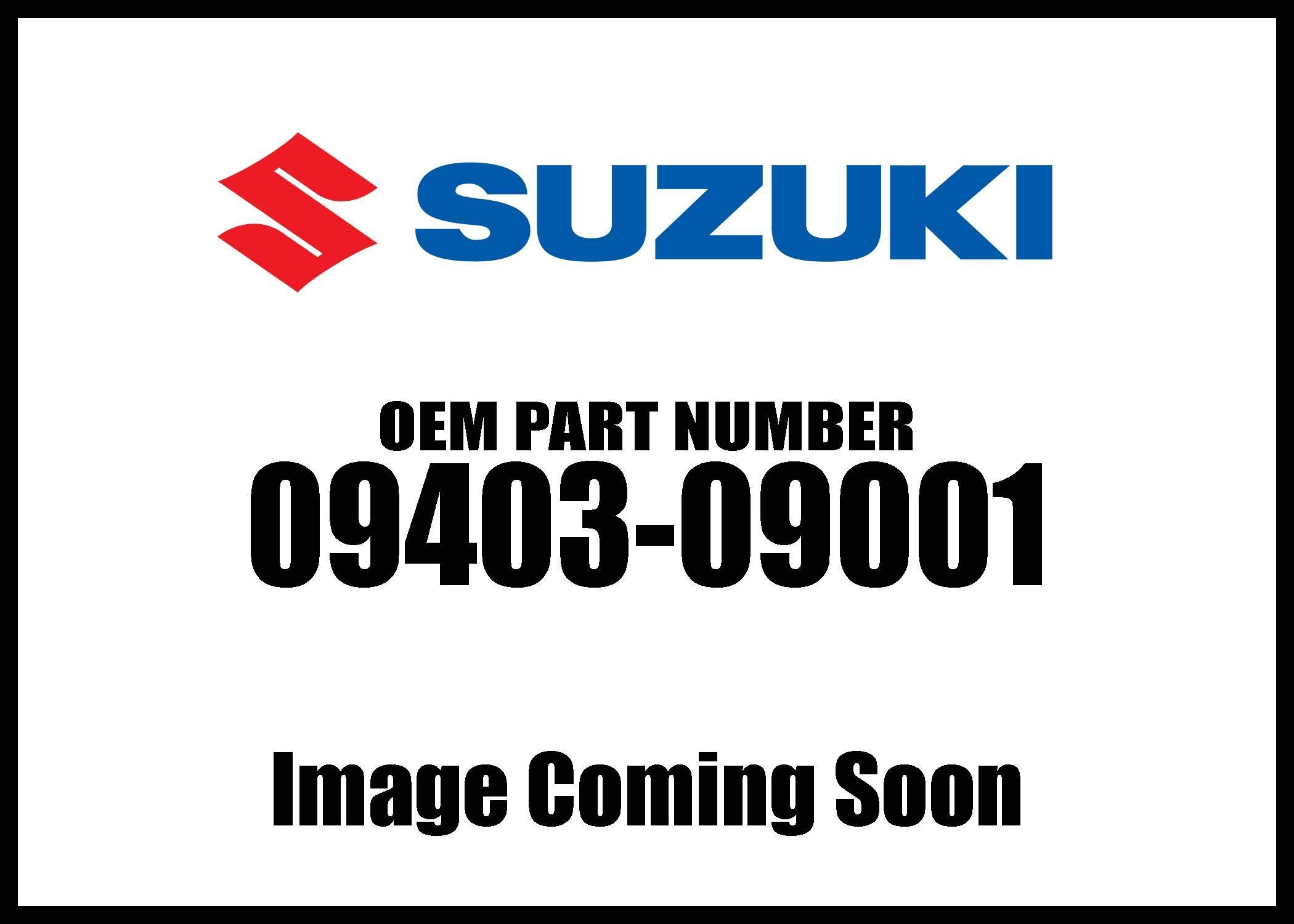 Suzuki Clamp Fuel Hose 09403-09001 New Oem