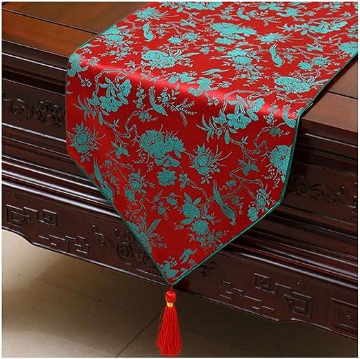 Caminos de mesa Elegante Mesa de Corredor Borla decoración Moda ...