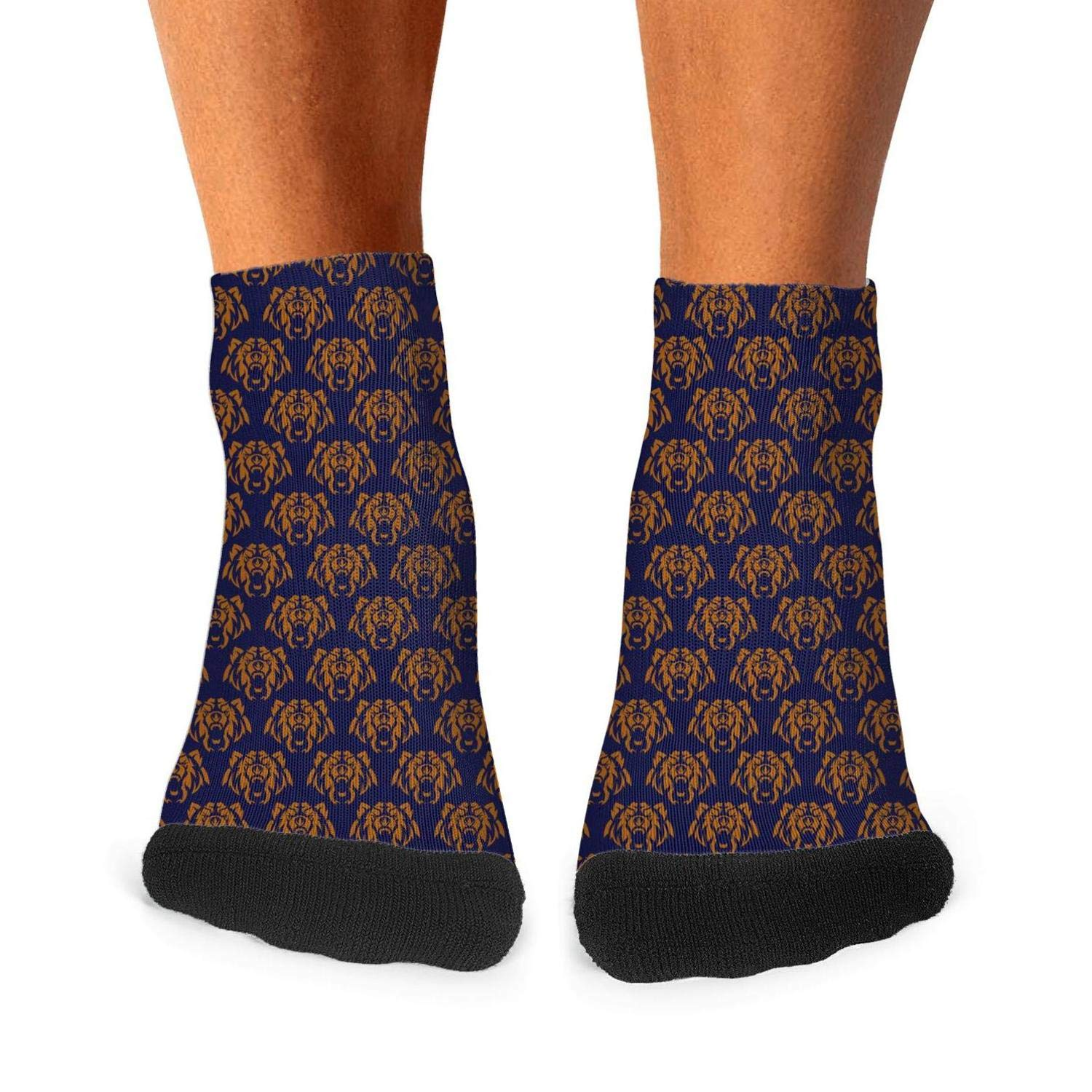 Mens Crazy Cool Print Socks Casual Cotton Stocks Fits Shoe Size 7.5-11.5