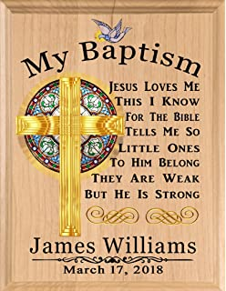 Amazon confirmation gift personalized confirmation gift baptism gift blessing personalized christening gifts for boys baby girls babies made in usa negle Gallery