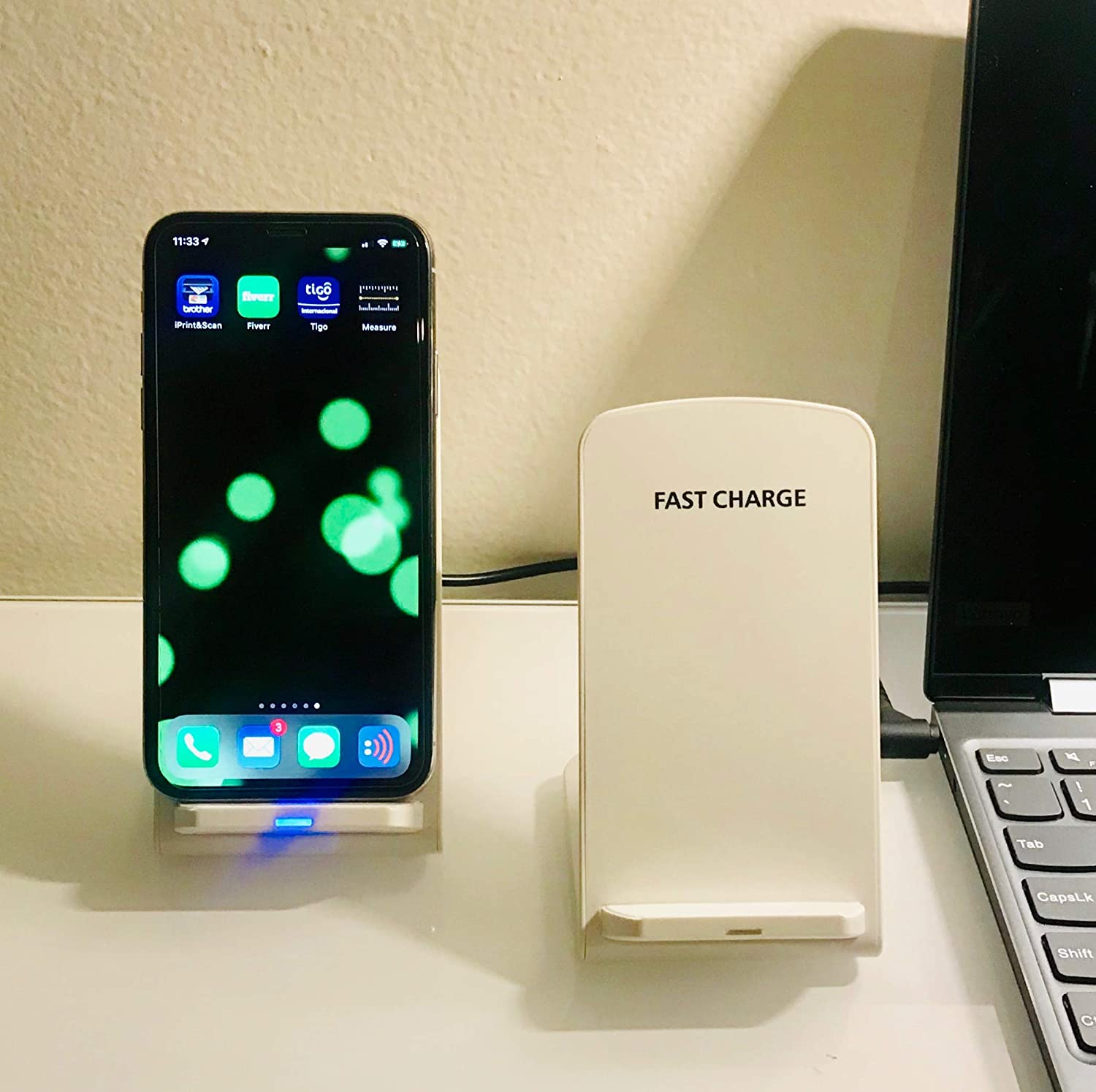Wireless Charger 10w Compatible with Samsung, Apple, Note. Special Introduction Sale Price! Cargador Innalambrico