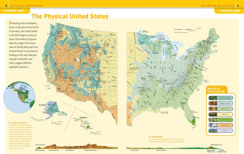 National Geographic Kids United States Atlas: Amazon.de ...