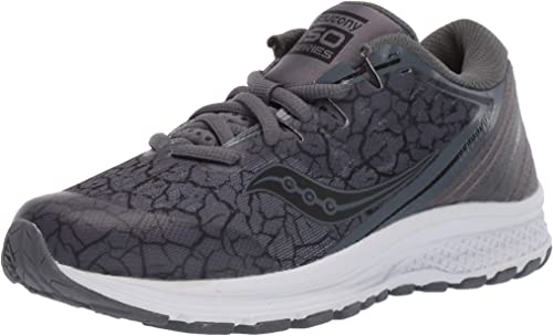 NEW SAUCONY KIDS GUIDE ISO 2 COMFORTABLE LACE UP ATHLETIC SPORT SHOES