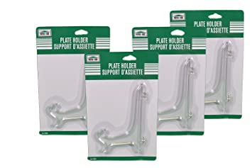 Lot of 4 Clear Plastic Decorative Plate Holders Display Stand Easels  sc 1 st  Amazon.com & Amazon.com: Lot of 4 Clear Plastic Decorative Plate Holders Display ...