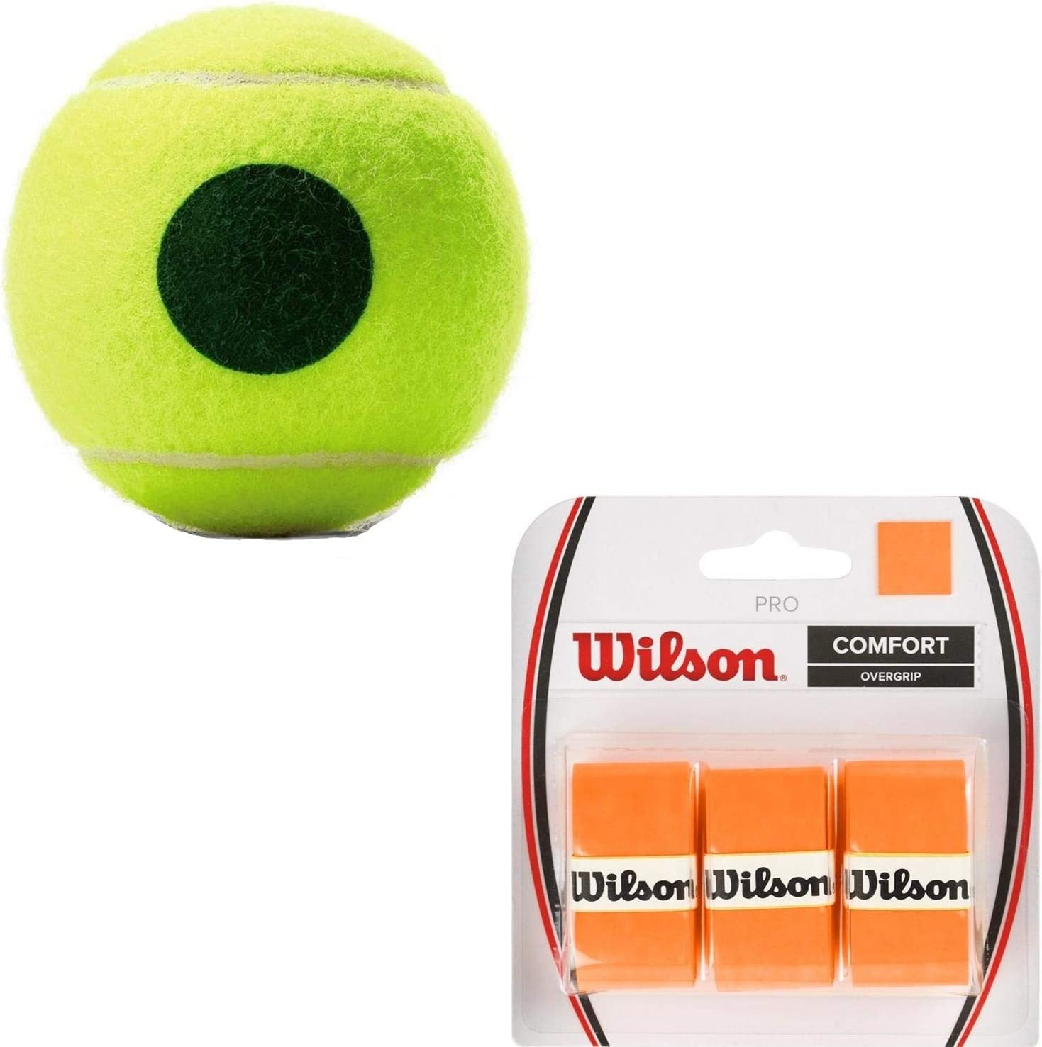 Amazon.com : Wilson US Open Green Dot Can of 3 Tennis Balls ...