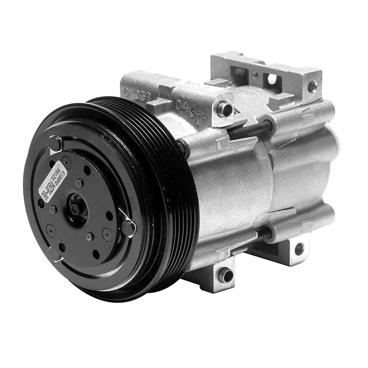 Denso 471-8105 New Compressor with Clutch