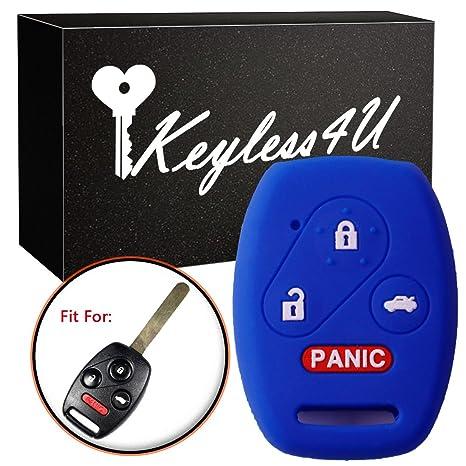 Hot Pink Fob Key Cover Keyless Remote for Honda Accord Civic CR-V Element Pilot