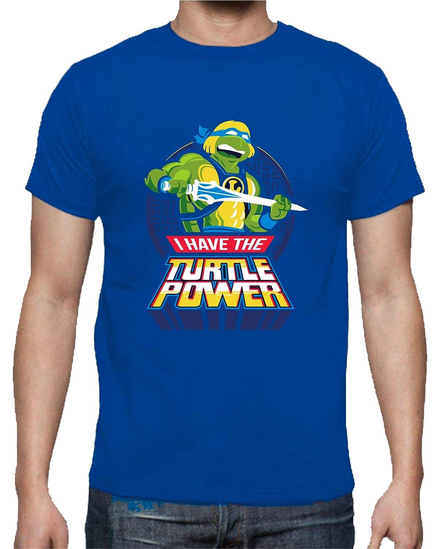 The Fan Tee Camiseta de Mujer Tortugas Ninja Miguel Angel ...
