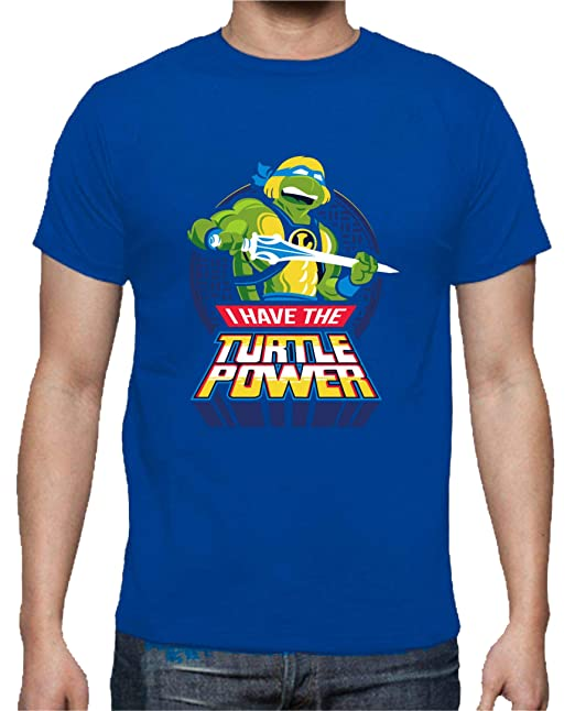 The Fan Tee Camiseta de NIÑOS Tortugas Ninja Miguel Angel ...