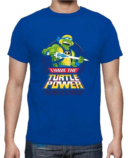 The Fan Tee Camiseta de NIÑOS Tortugas Ninja Miguel Angel ...