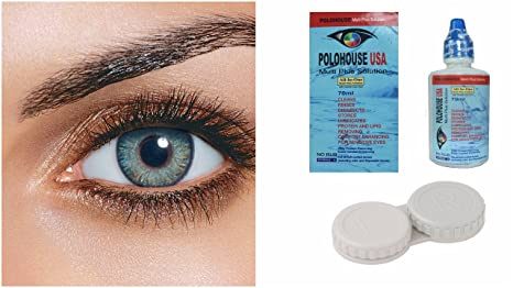 1ac3d64a52 Buy Polo House Usa Combo Of Monthly Contact Lens (Turquoise Blue ...