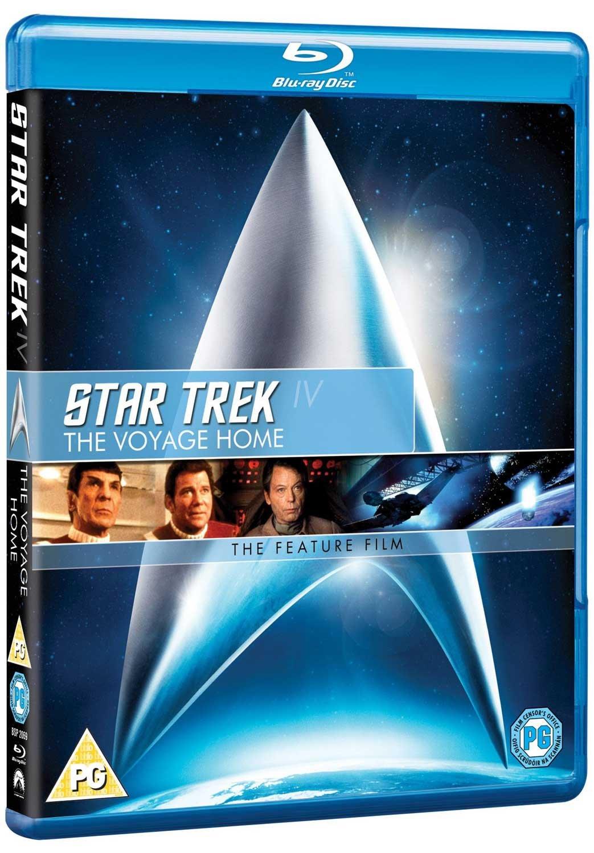 Star Trek: The Voyage Home Edizione: Regno Unito Reino Unido Blu-ray ...