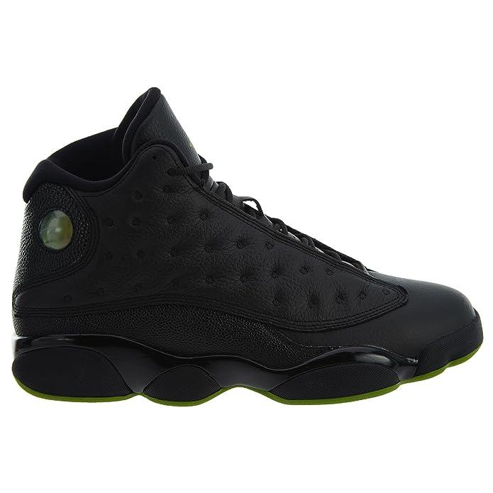 buy popular 6bac3 fb9d4 Nike Chaussures Hommes Jordan 13 Retro Altitude en Cuir Noir 414571-042   Amazon.fr  Chaussures et Sacs