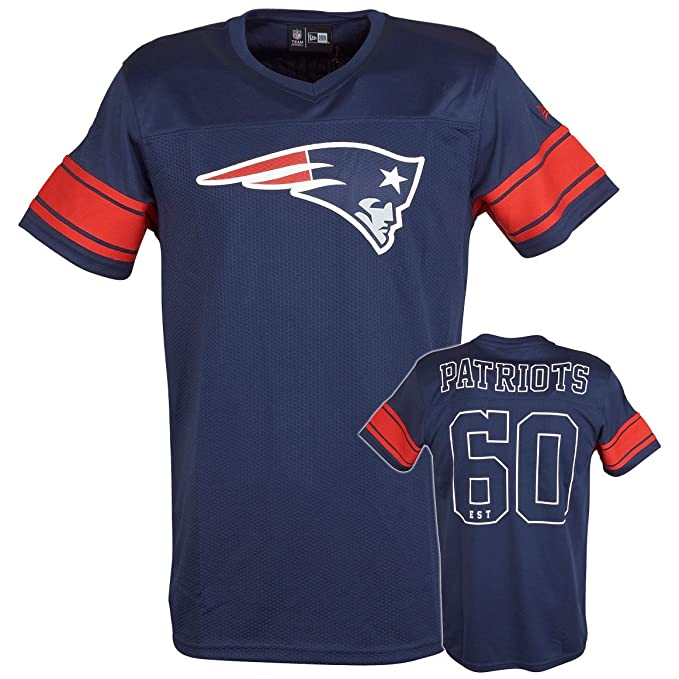 Camiseta New Era – Nfl Supporters Jersey New England Patriots azul/rojo talla: M